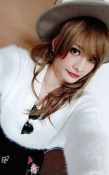 「CLOWD」、KOUさん、「女装の写メ、1」.jpg